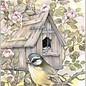 Creatief Art Pakket 6x SWR2-5012 vogel voor vogelnest