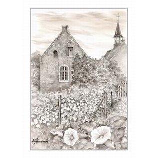 Creatief Art Pakket 6x SWR2-5026  zicht Herentals Oud Klooster