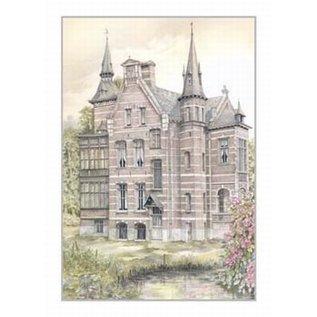 Creatief Art Pakket 6x SWR2-5035 kasteel herentals Tervesten