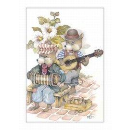Creatief Art Pakket 6x SWR2-5052 muizen met muziek