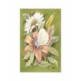 Creatief Art Pakket 6x SWR3-0157 bloemen magrieten