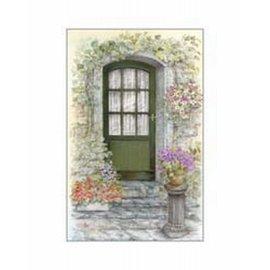 Creatief Art Pakket 6x SWR3-0158   groene deur