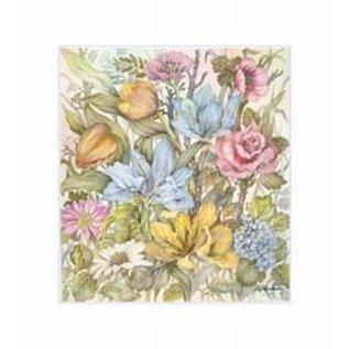 Creatief Art Pakket 6x SWR6-0008 bloemen