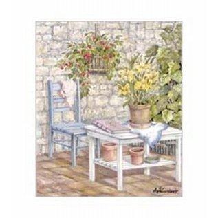 Creatief Art Pakket 6x SWR6-0024 tafel met stoel