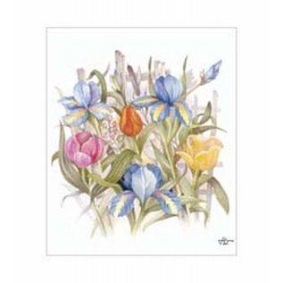 Creatief Art Pakket 6x SWR6-0027 bloemen