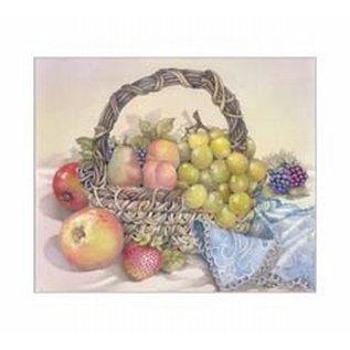 Creatief Art Pakket 6x SWR6-0045 stilleven fruitschaal