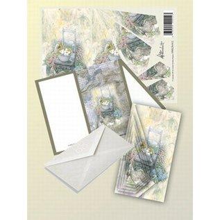 Creatief Art Pakket drieslag piramidevellen SWK30-012
