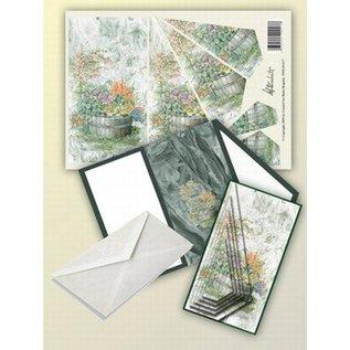 Creatief Art Pakket drieslag piramidevellen SWK30-017