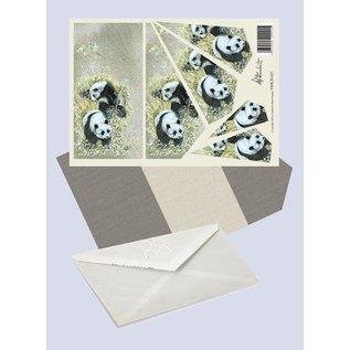 Creatief Art Pakket drieslag piramidevellen SWK30-021