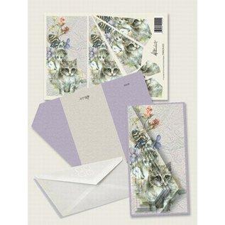 Creatief Art Pakket drieslag piramidevellen SWK30-022