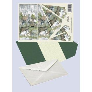 Creatief Art Pakket drieslag piramidevellen SWK30-027