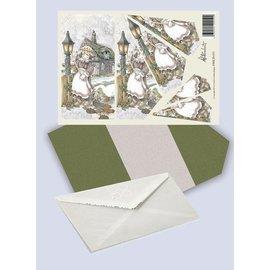 Creatief Art Pakket drieslag piramidevellen SWK30-031