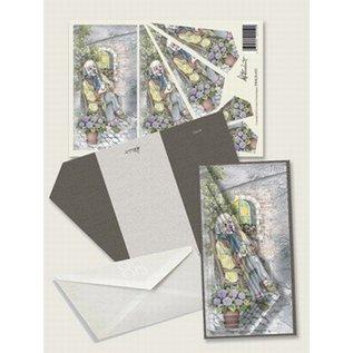 Creatief Art Pakket drieslag piramidevellen SWK30-032