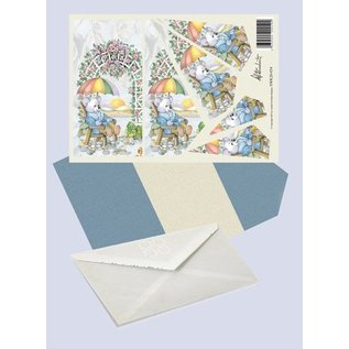 Creatief Art Pakket drieslag piramidevellen SWK30-034