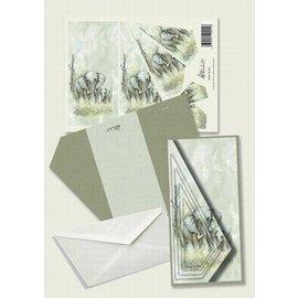 Creatief Art Pakket drieslag piramidevellen SWK30-041