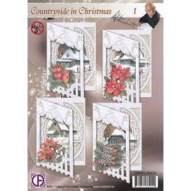 Creatief Art Pakket Kerst 2013  deel 1  SWK85-0042S