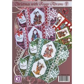 Creatief Art Pakket Kerst Peggy Abrams  deel 1