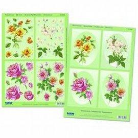 Passepartoutkaarten rozen