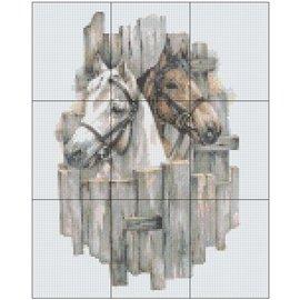 Pixel Hobby Pixelhobby Staf Wesenbeek - Paarden