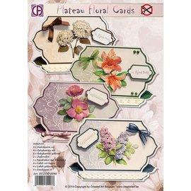Creatief Art Plateau-Blumenkarten