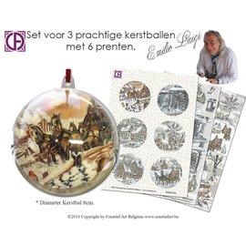 Creatief Art Set Kerstballen Emilio