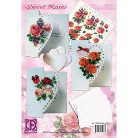 Creatief Art Forfait Roses Douces