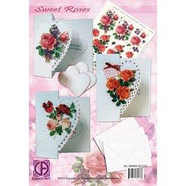 Creatief Art Sweet Roses Pakket
