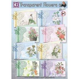 Creatief Art Fleurs transparentes 02
