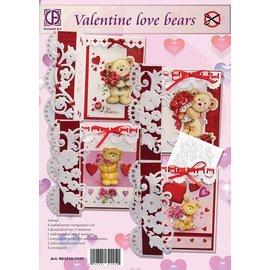 Creatief Art Valentine Liebesbären