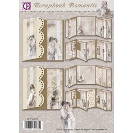 Creatief Art Scrapbook Romantic