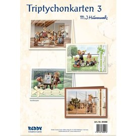 Reddy cards Drieluikkaarten 3 Hummel