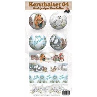 Creatief Art Kerstbalset 04