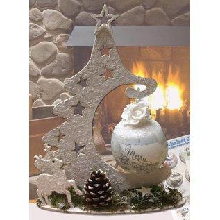 Creatief Art Bois ornement de Noël