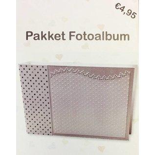 Creatief Art Pakket Fotoalbum