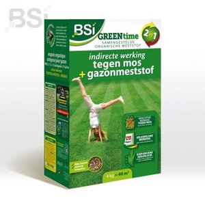 BSI Top Gazon Green Time 4kg - 40m2