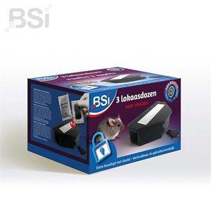 BSI Lokaasdozen - 3 stuks
