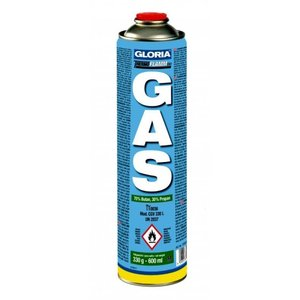 Gloria Thermoflamm gasfles los 600ml/330gr. Gloria