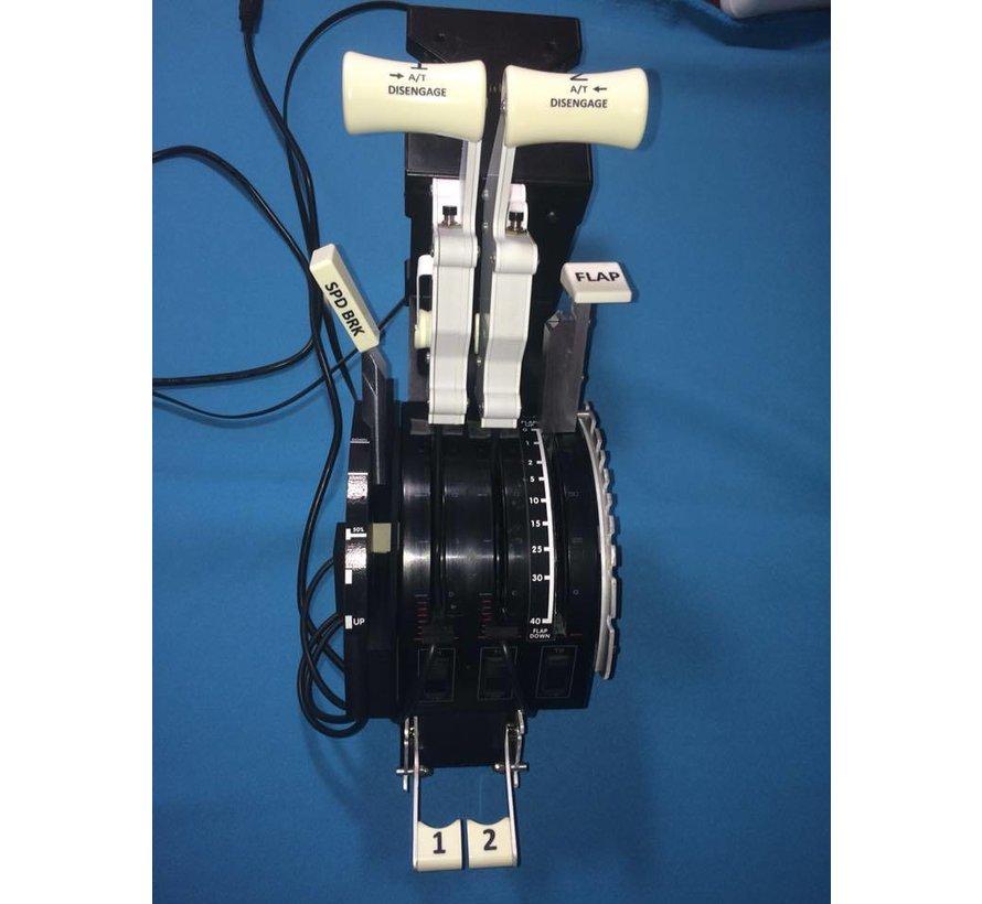 Saitek Throttle Quadrant modification V2