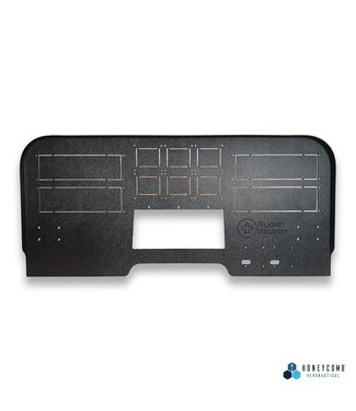 Flight Velocity Mid Profile Cockpit Panel - FV3H