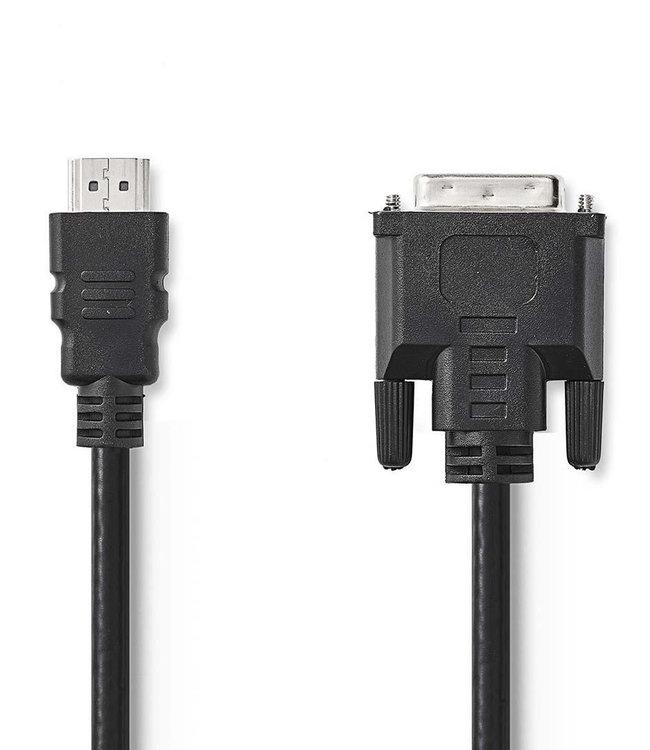 Nedis HDMI zu DVI-Kabel 2.0m