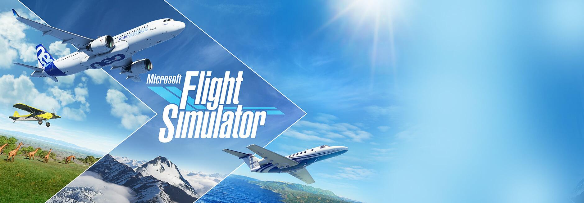 Flight Simulator Splash Screen