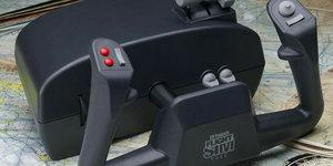 Een flight simulator yoke instellen in Prepar3D