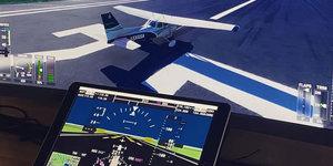 Een iPad als PFD gebruiken in Microsoft Flight Simulator