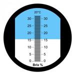 A.S. Refractometer 0-32% Brix