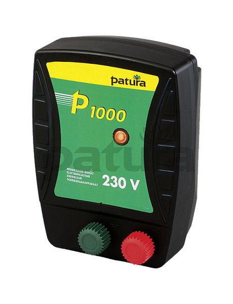 Patura P1000, schrikdraadapparaat voor 230 V stroomaansluiting