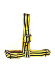 Koe Keuringshalster geel zwart (No.1)