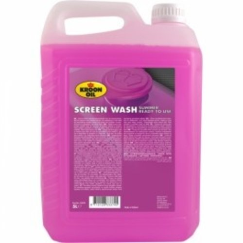 Kroon-Oil Screen Wash Summer 5L