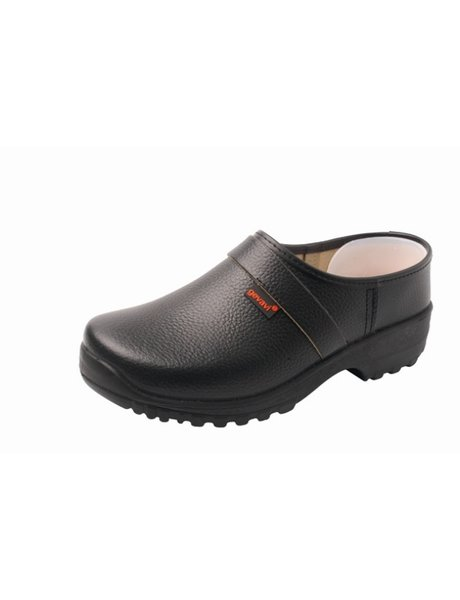 Gevavi Lincoln  pu schoenklomp zwart