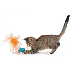 Kattenspeelgoed voor Brokjes met Veer - Petstages