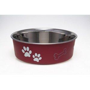 Loving Pets Honden Voerbak & Drinkbak - Vaatwasmachinebestendig, met Antislip en Antibacteriële RVS binnenzijde - Loving Pets Bella Bowl - 8 kleuren in Small tot Extra-Large